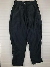 Ex Officio Nylon Lightweight Travel Pants Pleated Front Womens 6/8 Gray M26