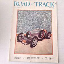 Road & Track Magazine Bugatti 51-A Austin Healy January 1957 062817nonrh
