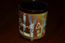 Billy Joel River Of Dreams LP Tour Promo Mug Columbia Records 1993 Rare