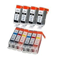 10-Pk/Pack PGI-5 CLI-8 Ink Set For Canon PIXMA MX850 MP600R MP600 iP4300 iP4200
