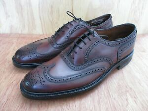 Regal Imperial Grade genuine shell cordovan leather 4029 brogue wingtip shoes 11