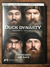 Duck Dynasty: Season 2, Vol. 1 (DVD, 2013, 2-Disc Set) Hunting-Fishing-AETV-Pray