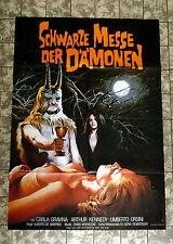 Fiera nera dei demoni/L 'Anticristo * a1-FILM POSTER wa GER 1-sheet 1975/82