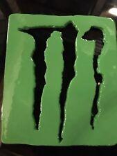 Monster Energy - - fait main - - Metal Art - - Cadeau Idéal - - KAWASAKI VERT!!!