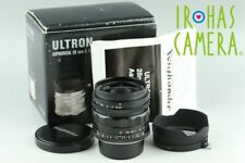 Voigtlander Ultron 28mm F/1.9 Aspherical Lens for Leica L39 With Box #24119