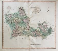 1801 Antique Map; John Cary large map of Berkshire, New English Atlas.