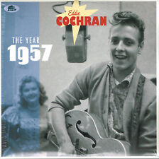 "EDDIE COCHRAN - THE YEAR 1957 (New - 2 x 10"" Gatefold VINYL LP set) Rockabilly"