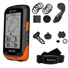 Bryton Rider 530T GPS Cycling Computer - ANT+ Speed, Cadence & HRM