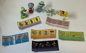 collection of five 2001 JIM WOODRING CRAZY NEWTS