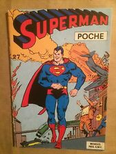 SUPERMAN POCHE (Sagedition) - T27 : novembre 1979