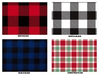 "BUFFALO PLAID Gift Tissue Paper Sheets 15"" x 20"" Choose Print & Pack Amount"