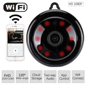 New 1080P Wireless WiFi CCTV Indoor/Outdoor HD MINI IP Camera CAM Home Security