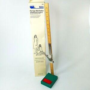 "Dritz 28"" Pin Type Skirt Marker Stand Original Box Vintage 1994"