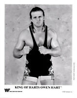 Owen Hart Wrestling Pre Print Promo Photo 8x6 WWF WCW Glossy Hologramed