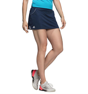 Adidas Tennis Skirt Womens XL Blue Climalite Quick Dry Training Built In Shorts