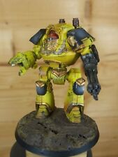 FORGEWORLD IMPERIAL FISTS SPACE MARINE CONTEMPTOR DREADNOUGHT WELL PAINTED (L)