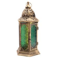 Orientalische Laterne fantasievollem Muster Marokko stehend hängend Windlicht