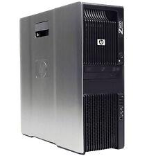 HP Z600 Workstation Quad Core Xeon CPU 12GB RAM 1TB HDD Wi-Fi Windows 10 NVIDIA