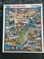 The American Revolution Puzzle - 1000 Pieces - White Mountain Puzzles