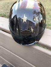 New listing Harley Davidson Usa American Flag Motorcycle Half Helmet Size Xxl