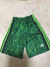 Adidas Youth Medium Jersey, Drawstring Shorts, Euc, Climacool