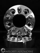 2 WHEEL SPACERS 5X5.5 | 2 INCH THICK 50MM | 9/16 STUDS 02-11 DODGE RAM 1500 USA