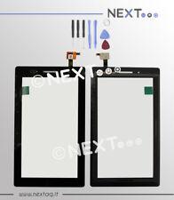 Touch screen per schermo display Tablet Lenovo Tab 3 TB3 - 710F nero +kit