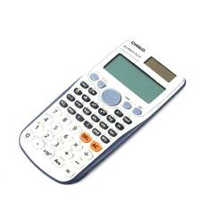 Scientific Calculator 417 Function Two Way Power for School Office