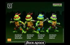 Teenage mutant ninja turtles hybride mini metal action figure 4 pack (sem 37)