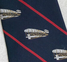Istituto Smithsonian NATIONAL Air & Space Museum Tie 1976 1970s PILOTA VINTAGE