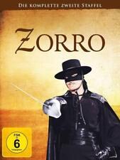 ZORRO - SEASON 2 - DVD Region 2/UK - Guy Williams - 7 Discs - Disney - colorized