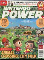2008 Nintendo Power Magazine #235 December Wii Animal Crossing NewsStand Variant