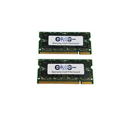 4GB 2X2GB Memory DDR2 SODIMM RAM for Laptop DELL LATITUDE D630 A39