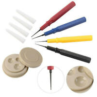 4x Professional Oiler Pen Needle With Oil Cup Watch Repair Tool For Watchmaker a