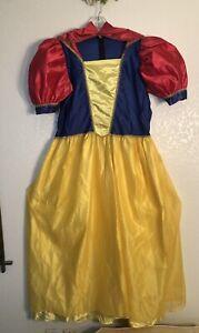 DISNEY store Snow White Costume Women XL 16//18 Xlarge new
