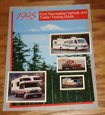Original 1995 Ford Recreation Vehicle & Trailer Towing Guide Sales Brochure 95