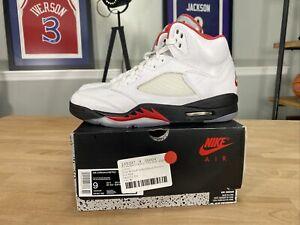 Size 9 - Jordan 5 Retro Fire Red 2020