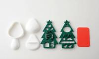 Christmas Party Onigiri Rice Ball Mold Bento Lunch Box Accessories Xmas A-76848
