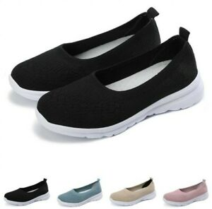 Hot Women's Sneakers Outdoor Loafers Solid Sports Socks Shoes Running 40/41/42