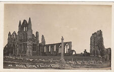 Abbey & Ancient Cross, WHITBY, Yorkshire RP