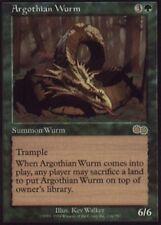 1x Argothian Wurm Light Play, English Urza's Saga MTG Magic