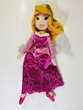 "Walt Disney Store Sleeping Beauty Aurora Princess 20"" Plush Stuffed Doll Clean"