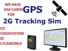 2G Sim Card ✔for GPS ✔Tracking Device Tracker GSM ✔Car Pet Child Personal on O2✔