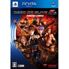 Used PS Vita Dead or Alive 5 Plus Collector's Edition Japan Import