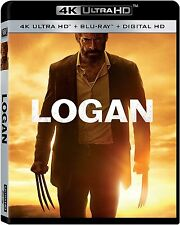 LOGAN (Hugh Jackman)   (4K ULTRA HD) - Blu Ray -  Region free