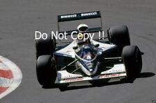 Mark Blundell Brabham BT60Y Belgian Grand Prix 1991 PHOTO