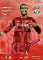 Liverpool v Crystal Palace PREMIER LEAGUE TITLE? Programme 24/6/2020!