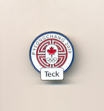Teck Canada PyeongChang 2018 Olympic Sponsor Pin