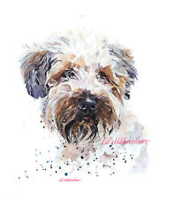 Wheaten Terriers - Watercolour Limited Edition Print