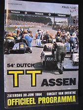 Programmaboekje 54e Dutch TT Assen 1984